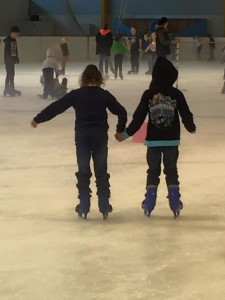 Vacation Care kids figure skating