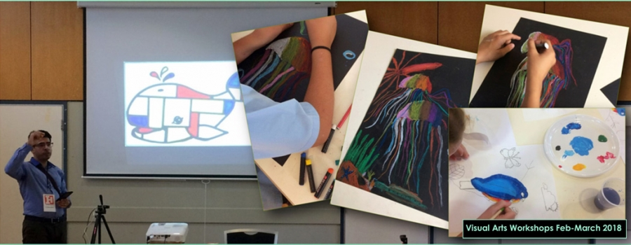 Visual Arts Workshops for 8-16s Feb-March 2018